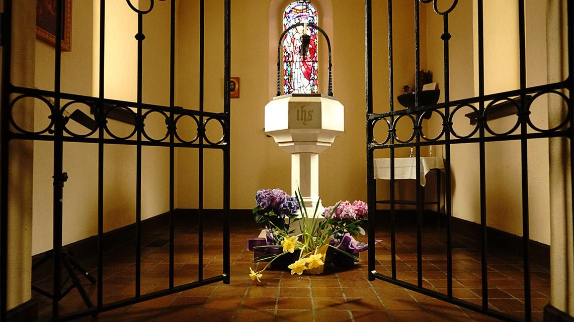 Photo of baptistry.